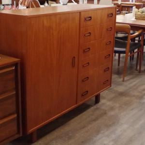 Dyrlund Teak Gentleman's Dresser from VHB's Collection