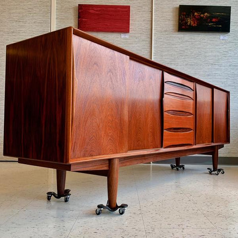 Dyrlund Rosewood Sideboard from VHB Collection