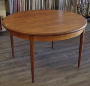 GPlan Teak Round Dining Table by Kofod-Larsen, sold by Vintage Home Boutique