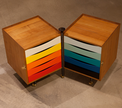 Glove Cabinet by Juhl--Open