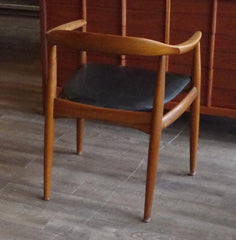 Wegner Round Chair at Vintage Home Boutique, Back View