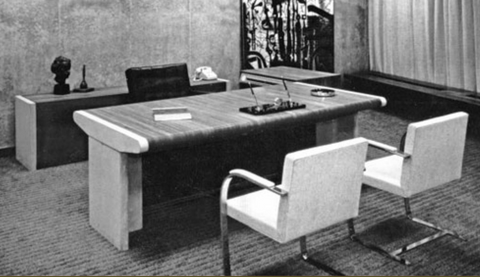 Leif Jacobsen Desk for Toronto Mayor.