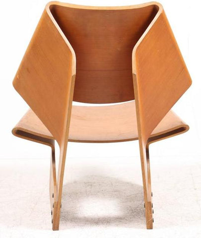 Grete Jalk GJ Chair, Rear View