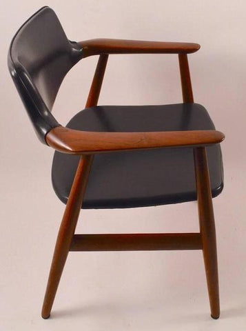 Rosewood and Leather Armchair by Grete Jalk, from 1stdibs