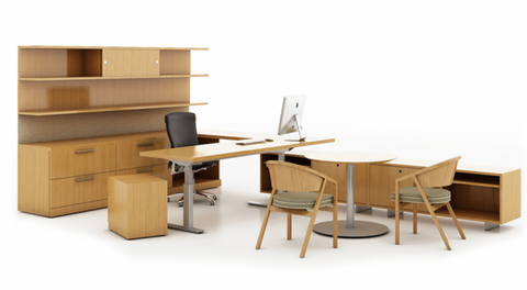 Reff Profiles Office Furniture. Image from Knoll.