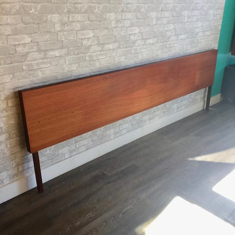 Reff mid-century headboard from VHB's collection.