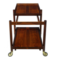 Hundevad Rosewood Serving Table Trolley/Cart