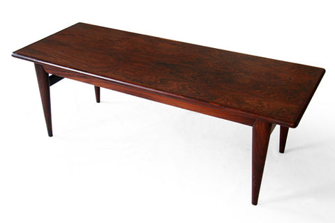 Rosewood Coffee Table by Niels Moller, via Scandinavian Modern