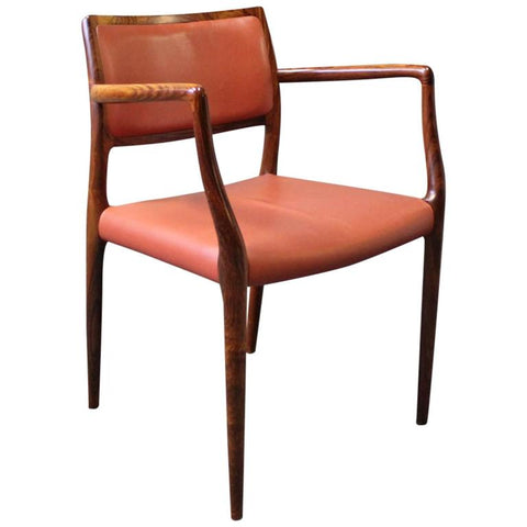 Full view of Niels Moller Model 65 Chair from 1stdibs