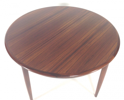 Niels Moller Round Rosewood Dining Table