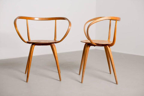 George Nelson Pretzel Chair, Image from 1stdibs