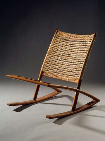 Fredrik Kayser Model 599 Ricking Chair