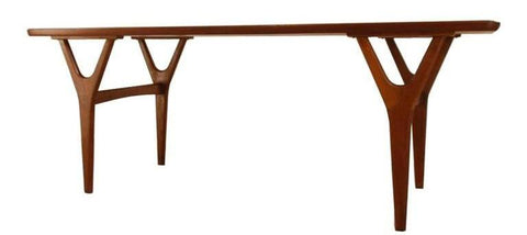 Kurt Ostervig Coffee Table with Y legs