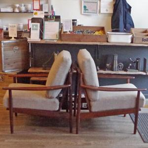 Grete Jalk Armchairs at VHB