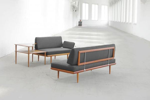 Minerva Sofa Set, Sofas Separated--Designed by Hvidt and Molgaard-Nielsen