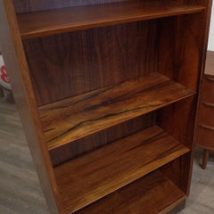 Close-up View of Poul Hundevad Rosewood Bookcase