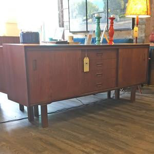 Punch Designs Teak and Oak Sideboard.