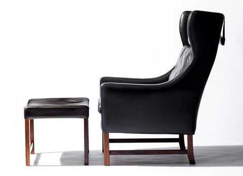 Fredrik Kayser Model 965 High Back Armchair.