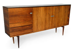 Sideboard by H.W. Klein for Bramin, front view.