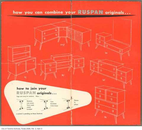 Ruspan Originals Modular Furniture