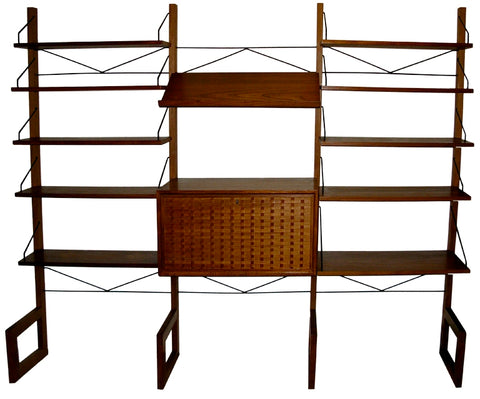 Poul Cadovius Free-Standing Royal Shelving System
