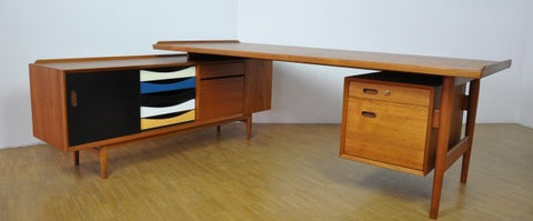 Arne Vodder Desk and Sideboard