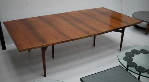 Rosewood conference table by Arne Vodder