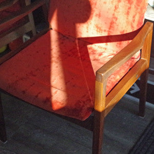 Canadian Mid Century Walnut Armchairs By Walter Nugent - Vintage Home Boutique - 4