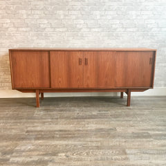 Canadian Mid-Century Teak Sideboard By Punch Designs