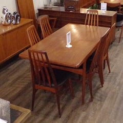Arne Hovmand Olsen Teak Dining Table - Vintage Home Boutique - 1