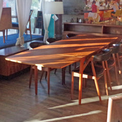 Arne Vodder Mid Century Teak Dining Table with Drop Leaves - Vintage Home Boutique - 7