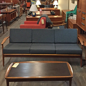 Mid Century Teak Sofa by Arne Vodder for Vamo Sonderborg - Vintage Home Boutique - 2