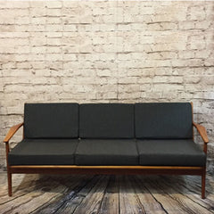 Mid Century Teak Sofa by Arne Vodder for Vamo Sonderborg - Vintage Home Boutique - 1