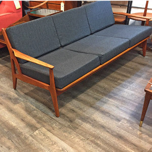 Mid Century Teak Sofa by Arne Vodder for Vamo Sonderborg - Vintage Home Boutique - 3