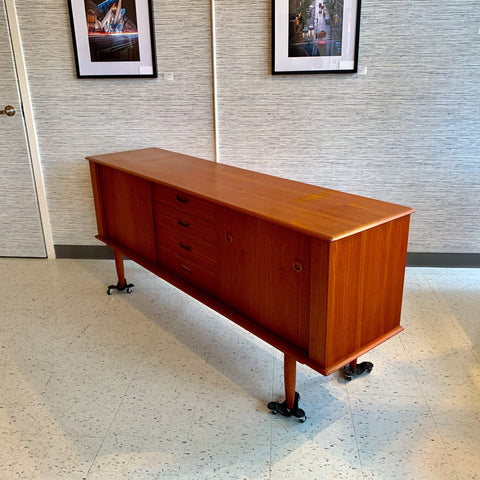 Beautiful Canadian Mid-Century Teak Sideboard By R Huber