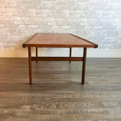 Canadian Mid-Century Teak And Rosewood Coffee Table