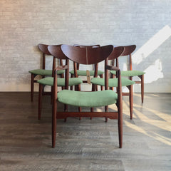 Canadian Mid-Century Teak Dining Chairs By Russell Spanner