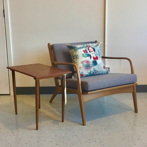 Mid-Century Walnut Lounge Chair By Adrian Pearsall For Craft Associates