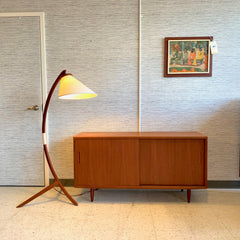 Compact Danish Mid-Century Teak Sideboard By Poul Hundevad Co.
