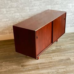 Compact Mid-Century Sideboard Or Media Cabinet