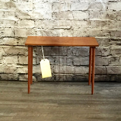 Compact Teak Side Table