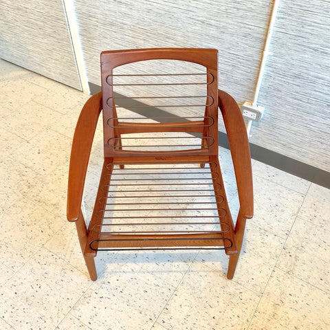 Danish Modern Teak Armchair by Arne Vodder