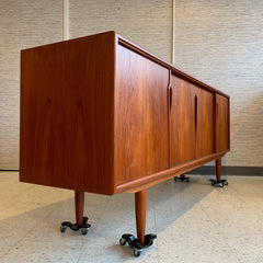 Danish Modern Teak Sideboard By Gunni Omann For Axel Christiansen Odder