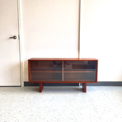 Danish Mid-Century Modern Teak TV Stand Or Media Cabinet
