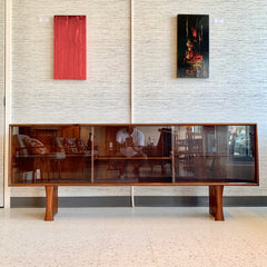 Danish Mid-Century Rosewood TV Stand By Dyrlund