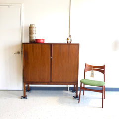 Danish Mid-Century Rosewood Tall Cabinet By Borge Mogensen