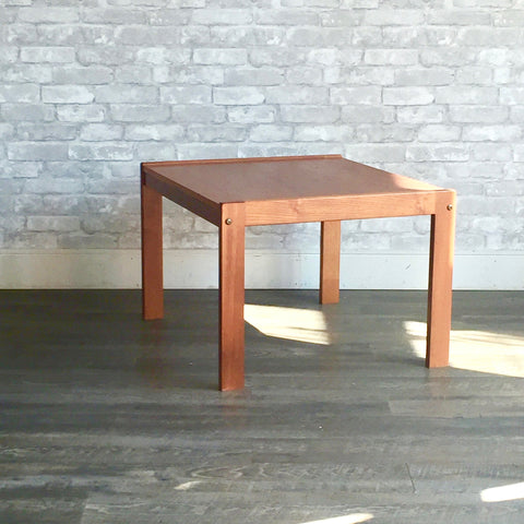 Danish Mid-Century Teak Coffee Table By Bent Silberg