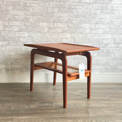 Danish Mid-Century Teak Side Table By Arne Hovmand-Olsen