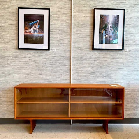 Danish Mid-Century Teak TV Stand Or Media Cabinet By ACO Mobler
