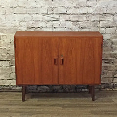 Danish Mid Century Teak Cabinet By Borge Mogensen for Soborg Mobler - Vintage Home Boutique - 1